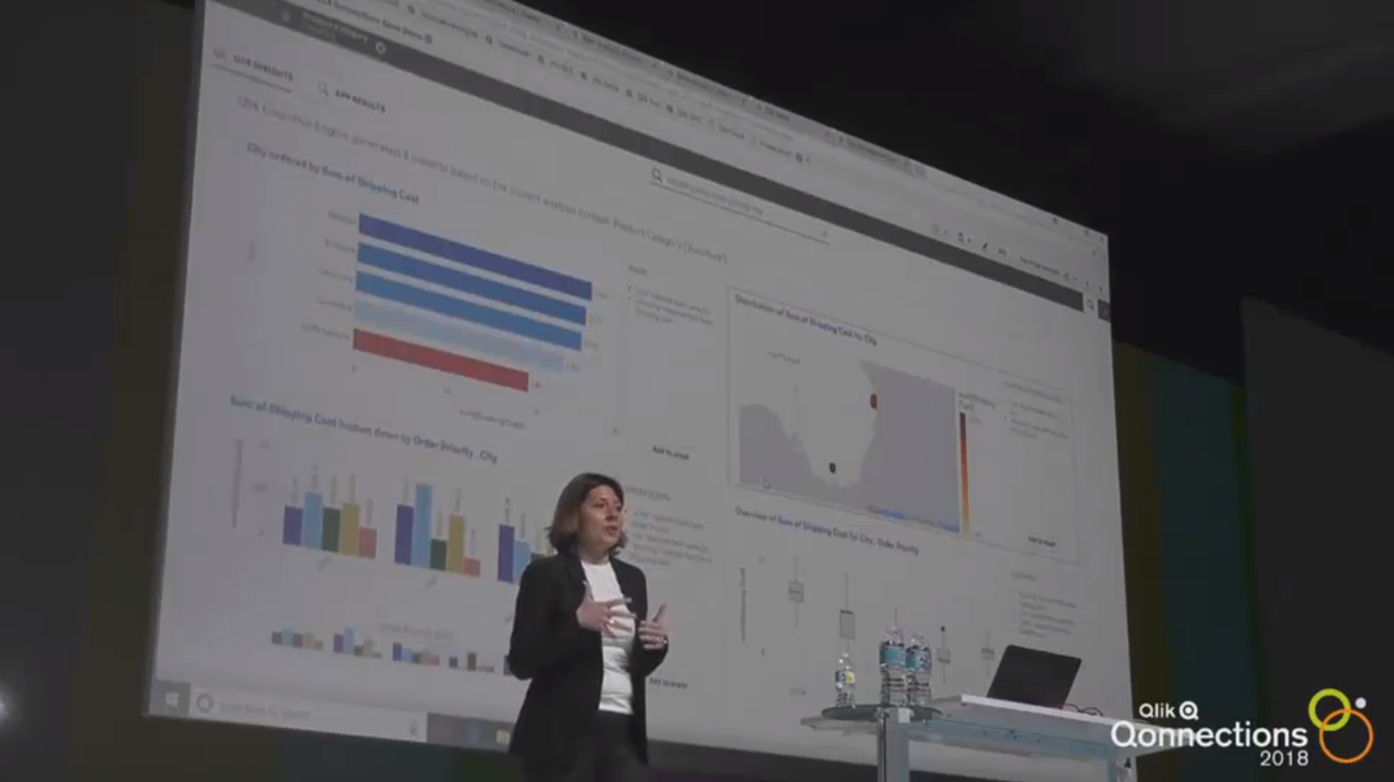 Qlik's Cognitive Engine at Qonnections