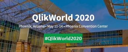 Qlik World 2020 - Banner1