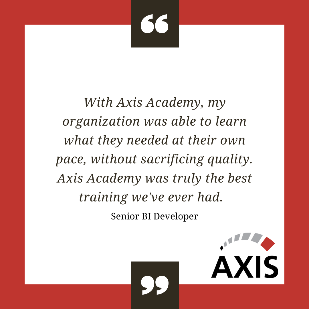 Propel Qlik Sense Adoption with Axis Academy Training from Axis Group